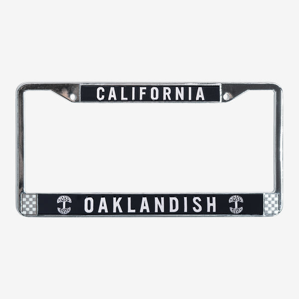 Oaklandish License Plate Holder