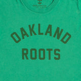 Roots SC Mosaic Tee - Green Cotton