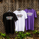 t-shirt - oakland is proud - del phresh x oaklandish - black