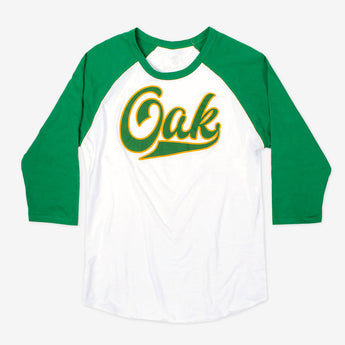 OAK Long Cut Script Raglan