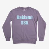 Oakland USA by DopeOnly Premium Crew Sweatshirt - Mauve