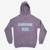Oakland USA by DopeOnly Premium Hoodie - Mauve Cotton