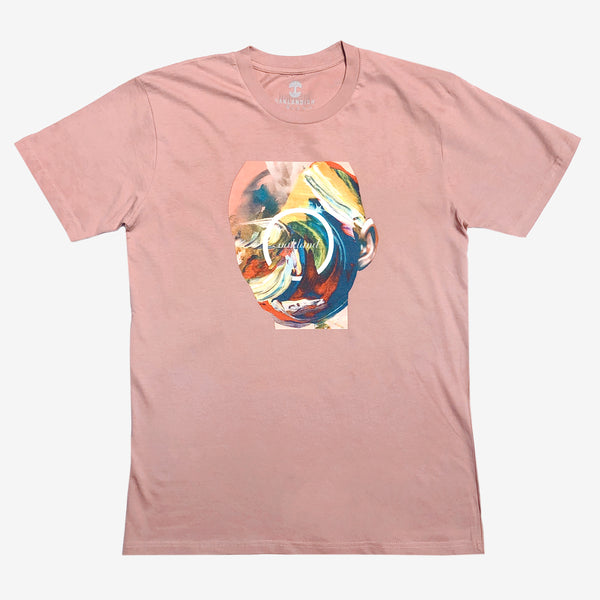 Hueman Head Tee - Classic Fit Rose Cotton