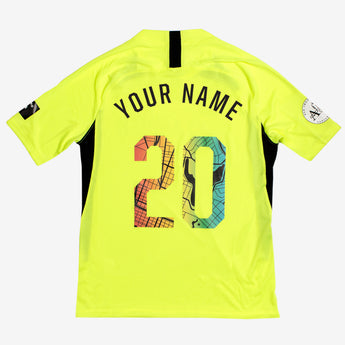 2020 Roots SC Nike Custom Goalie Jersey