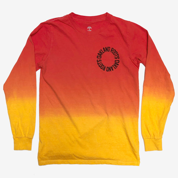 Roots SC Faded Dip Dye LS Tee