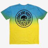 Roots SC Shaded Dip Dye Tee