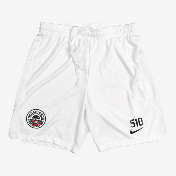 2020 Roots SC Nike White Shorts