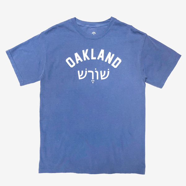 Roots SC Translation Tee - Blue Cotton