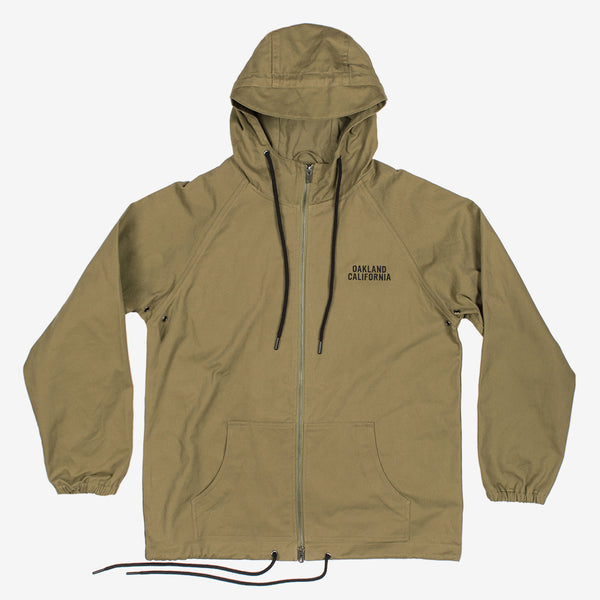 Sunset Beachbreaker Windbreaker | Cotton Zip Up