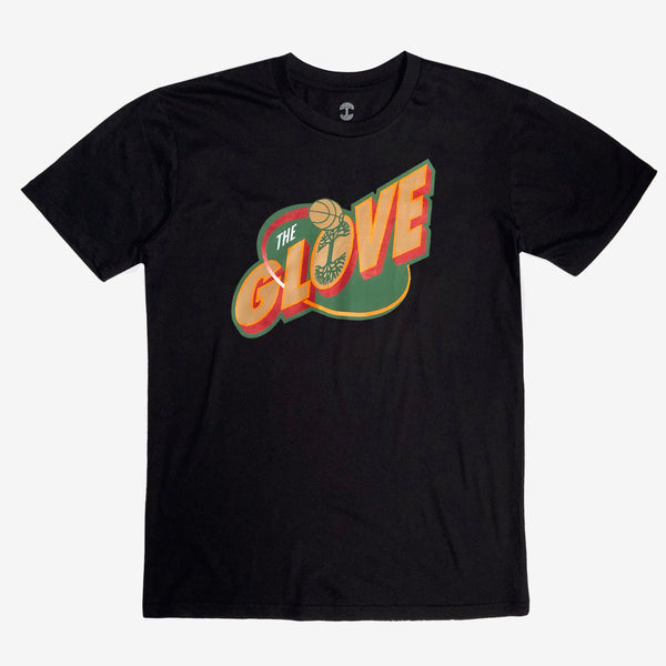 Gary Payton The Glove Tee - Black Cotton