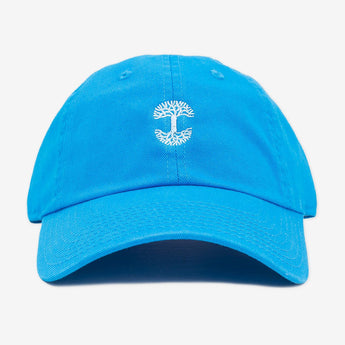 Micro Logo Dad Hat Blue