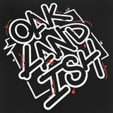 T-Shirt - Oaklandish Movement, Black Cotton, Classic Fit
