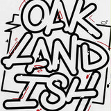 Tee - Oaklandish Movement, White Cotton, Classic Fit