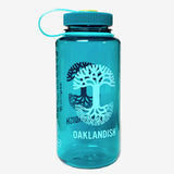 Oaklandish Nalgene 32 oz Bottle - Durable Trout Green