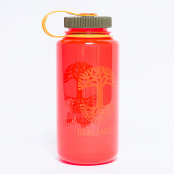 Oaklandish Nalgene Bottle - Pomegranate