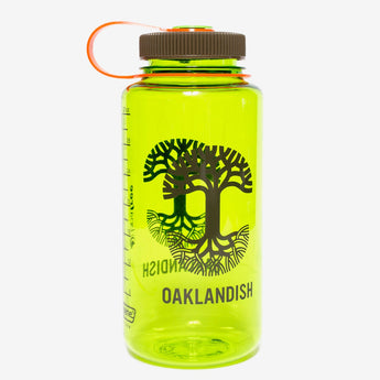 Oaklandish Nalgene Bottle - Spring Green