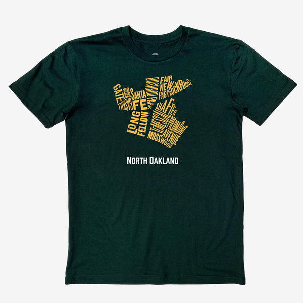 North Oakland Neighborhood Tee