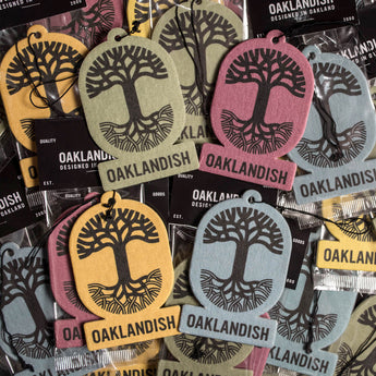 Air Freshener - Oaklandish Logo in Four Scents and Colors