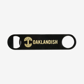 OAK Paddle Bottle Opener Metallic