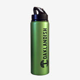 Aluminum Flip Water Bottle
