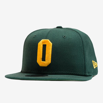 Cap - New Era 9Fifty, Embroidered Oakland A Logo, Green