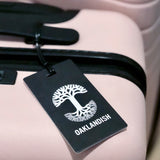 Luggage Tag - Oaklandish Logo - Black