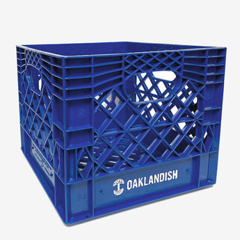 Oaklandish Milk Crate