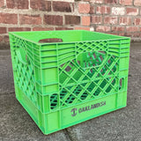 Oaklandish Foil Stamped Logo Milk Crate - Green