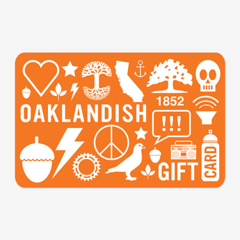 Oaklandish Online Gift Card - 50