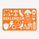 Oaklandish Online Gift Card - 25