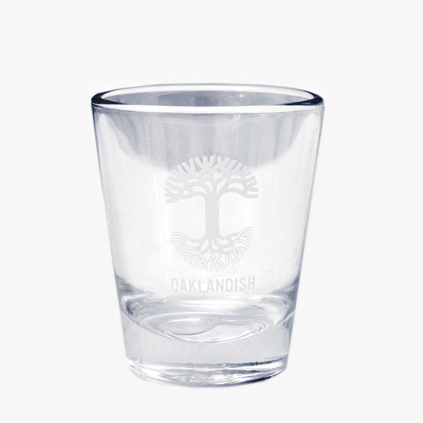 Oaklandish Shot Glass