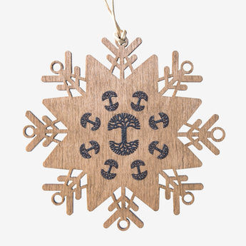 OAK Wood Ornament