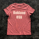 Women's Oakland USA by DopeOnly Tee