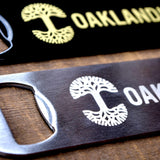 OAK Paddle Bottle Opener Stainless Steel