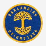Oaklandish Circle Patch Royal