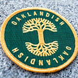 Oaklandish Circle Patch Green