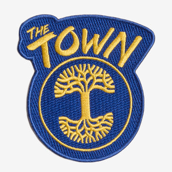 Forever The Town Iron-On Patch - Blue & Gold
