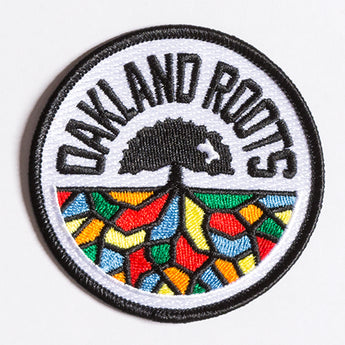 Oakland Roots SC Iron-On Patch - Round Multi-Color