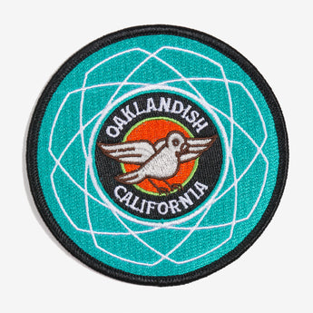 Iron On Patch - Oaklandish Pigeon - Multi-Color Textile