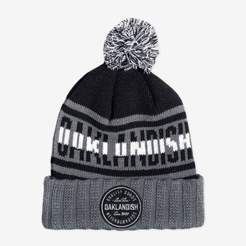Oaklandish Pillow Line Knit Black