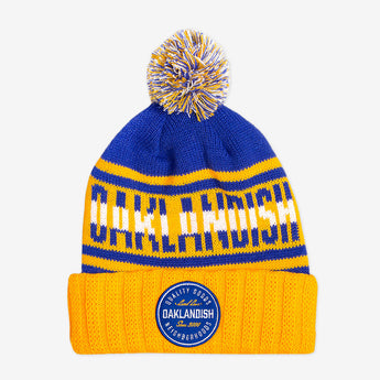 Oaklandish Pillow Line Knit Royal