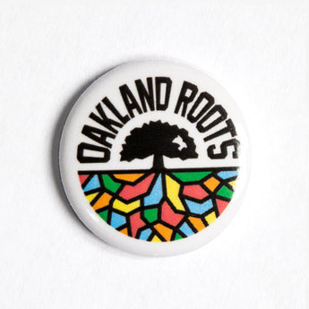 Roots SC Oakland Roots Pin - Metal Round