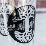 Logo Tree Pint Glass 2019