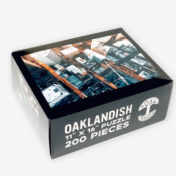Oaklandish Oakland City Jigsaw Puzzle - 200 Pieces