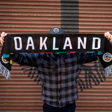 Knitted Scarf - Roots SC OG, Multi-Color