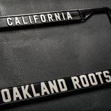 Roots SC License Plate Holder - Oakland Roots