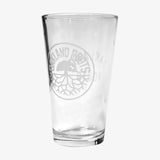 Pint Glass - Roots SC Oakland Roots Logo, 16oz
