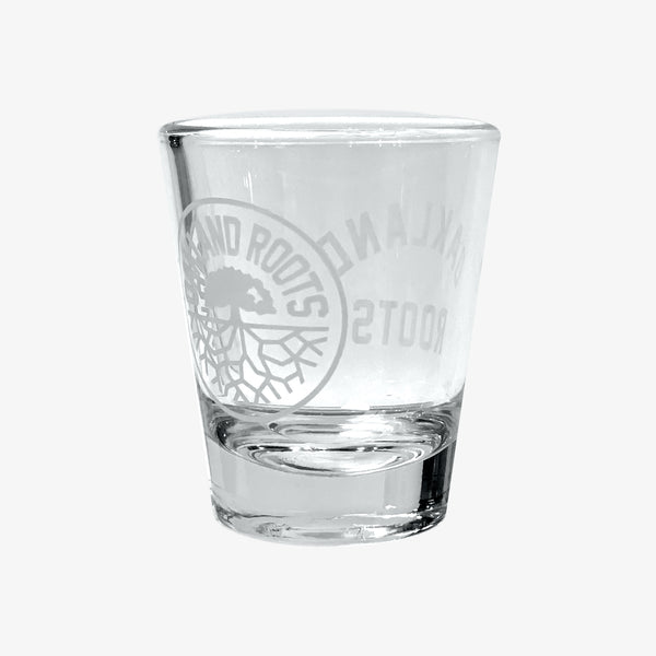 Shot Glass - Roots SC Oakland Roots Logo, 1.75 oz