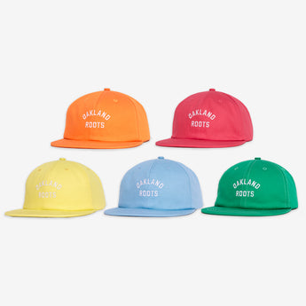 Roots SC Caps - Pack of 5 Unstructured Snapback Cotton Hats