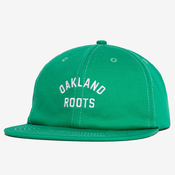 Roots SC Cap - Cotton, Unstructured Crown, Green